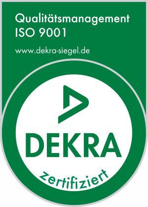 Dekra Logo ISO 9001